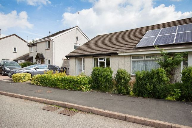 Thumbnail Semi-detached bungalow for sale in Palace Meadow, Chudleigh, Newton Abbot