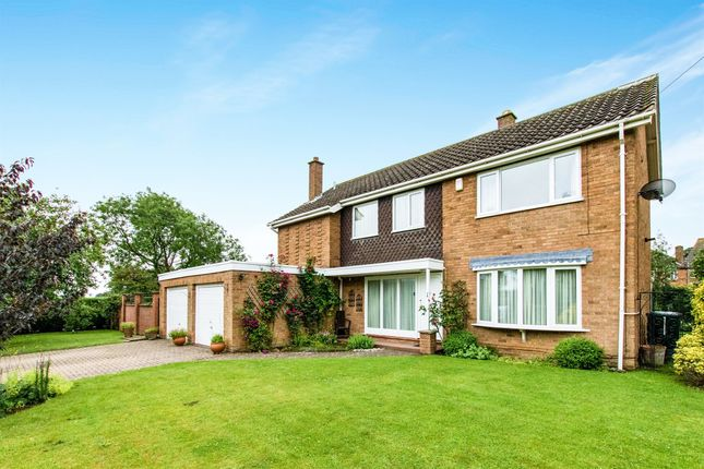 Thumbnail Detached house for sale in Dimmock Close, Harlaxton, Grantham