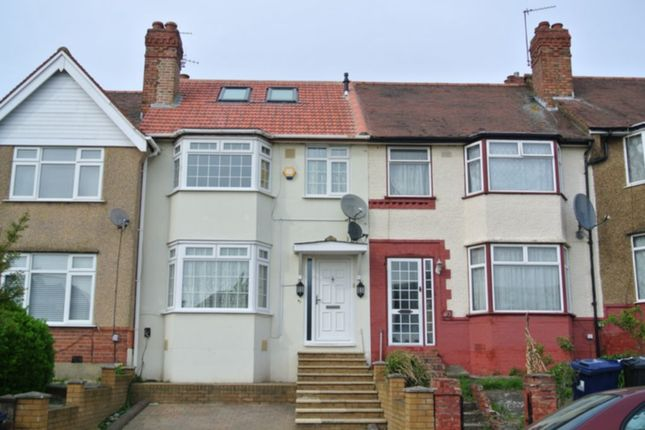 Thumbnail Terraced house to rent in Northwood Gardens, Greenford
