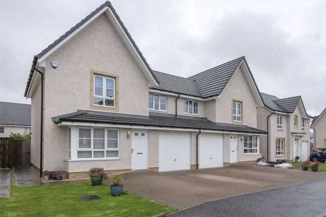 Thumbnail Semi-detached house for sale in Wingate Row, Highland Gate, Stirling