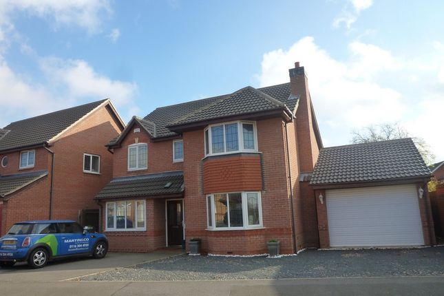 Thumbnail Detached house to rent in Heathley Park Drive, Leicester