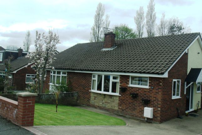 Thumbnail Semi-detached bungalow to rent in Wordsworth Close, Dukinfield