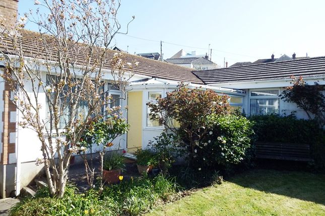 Thumbnail Detached bungalow for sale in St. Michaels Road, Perranporth