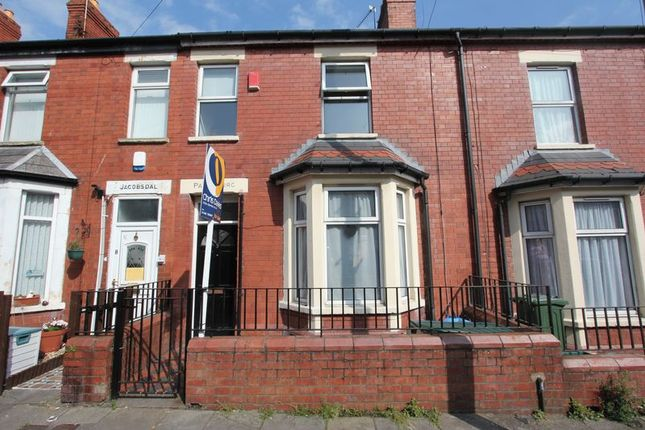 Thumbnail Terraced house for sale in Quarella Street, Barry