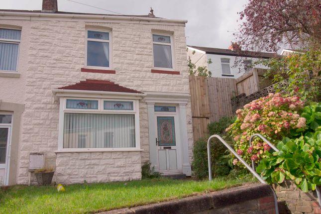 Thumbnail End terrace house to rent in Parc-Y-Duc Terrace, Morriston, Swansea