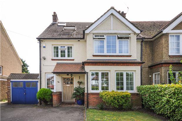 Thumbnail Semi-detached house for sale in Link Lane, Wallington, Surrey