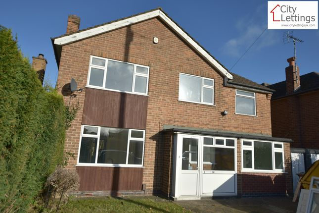 Thumbnail Detached house to rent in Templeoak Drive, Nottingham