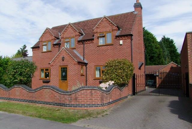 Thumbnail Detached house for sale in Church Broughton Road, Foston, Derby
