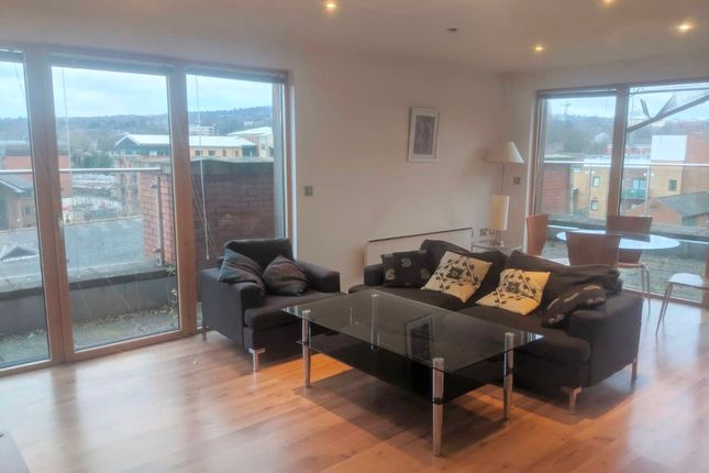 Thumbnail Flat to rent in 2 Bed Penthouse Apartment, Shire House, Napier Street, Sheffield