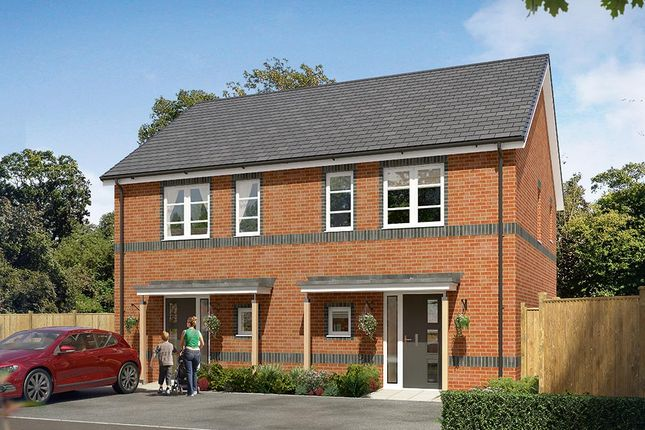 "Thumbnail Semi-detached house for sale in ""The Langford"" at Cobblers Lane, Pontefract"