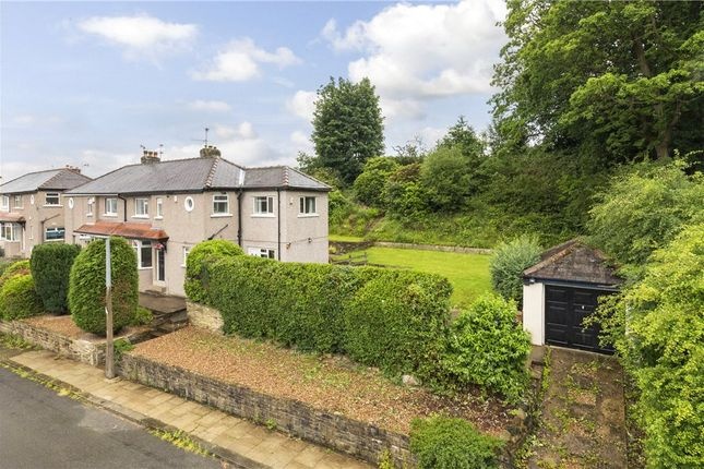 Thumbnail Semi-detached house for sale in Lynton Drive, Shipley, West Yorkshire