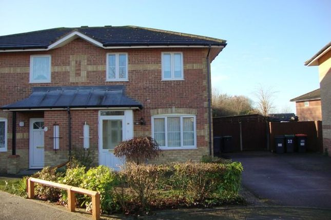 3 bed semi-detached house to rent in Marigold Way, Bedford