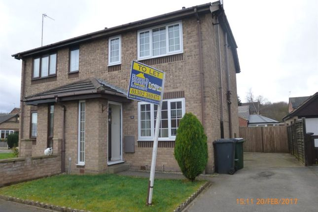 Thumbnail Semi-detached house to rent in Southmoor Lane, Armthorpe, Doncaster