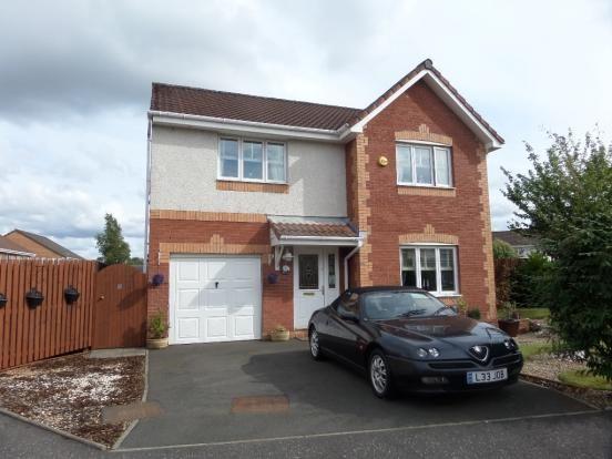 Thumbnail Detached house for sale in Copsewood Crescent, Coatbridge