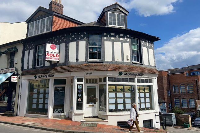 Thumbnail Commercial property to let in Mount Ephraim, Tunbridge Wells, Kent