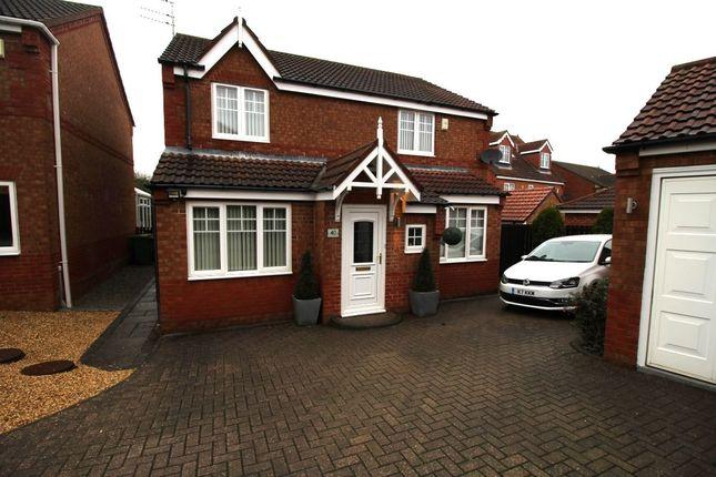 Thumbnail Detached house for sale in Knaresborough Close, Bedlington