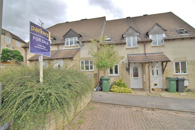 Thumbnail Terraced house for sale in Hill Top View, Chalford, Stroud, Gloucestershire