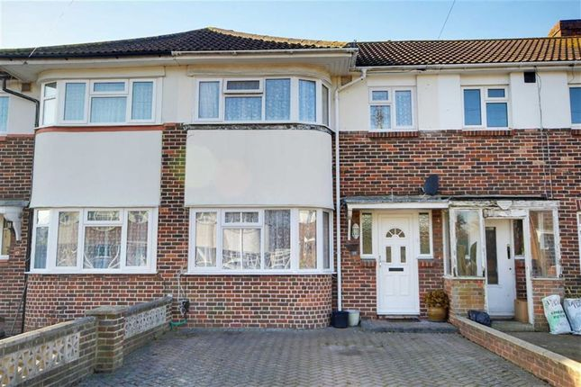 Thumbnail Terraced house for sale in Turner Road, Broadwater, Worthing, West Sussex