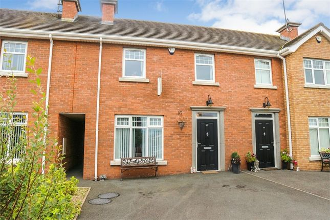 Thumbnail Town house for sale in Scarvagh Heights, Scarva, Craigavon, County Down