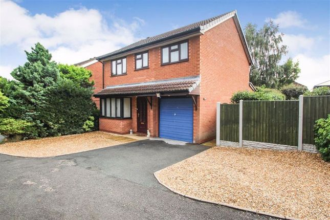 Thumbnail Detached house for sale in Summerfield Close, Oswestry