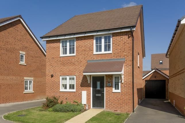 Thumbnail Detached house for sale in Birch Grove, Honeybourne, Evesham, Worcestershire