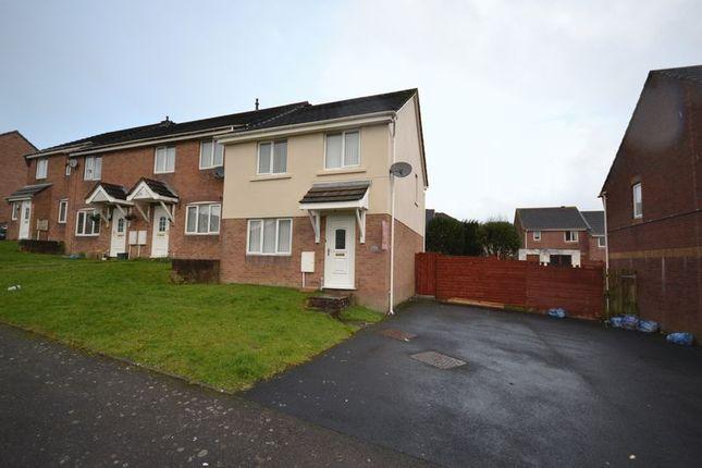 Thumbnail Semi-detached house to rent in Brynhyfryd, Llangennech, Llanelli