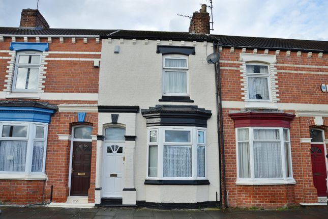 Thumbnail Terraced house for sale in Abingdon Road, Middlesbrough