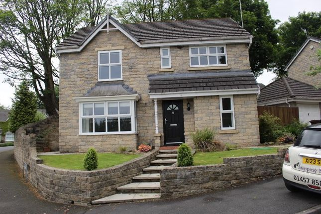 Thumbnail Detached house to rent in High Meadow, Simmondley, Glossop