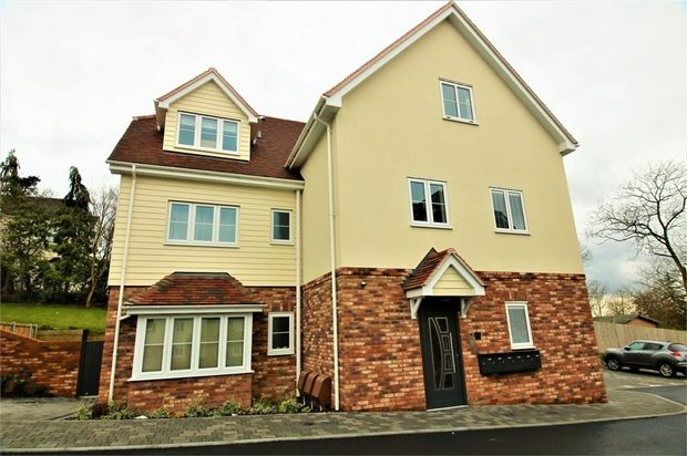 Thumbnail Flat for sale in Woodlands, Catherine Road, Benfleet, Essex
