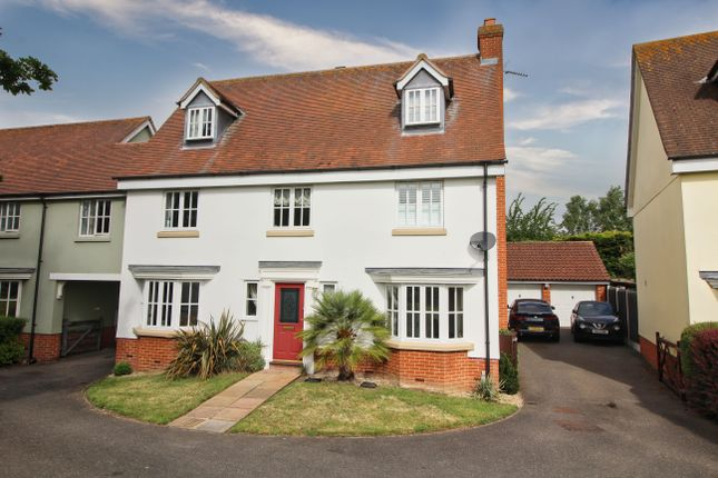 Thumbnail Link-detached house for sale in Wilkin Drive, Tiptree, Colchester