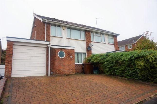 Thumbnail Semi-detached house for sale in St. Johns Avenue, Kingsthorpe, Northampton