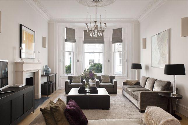 Thumbnail Terraced house for sale in Stafford Terrace, Kensington, London