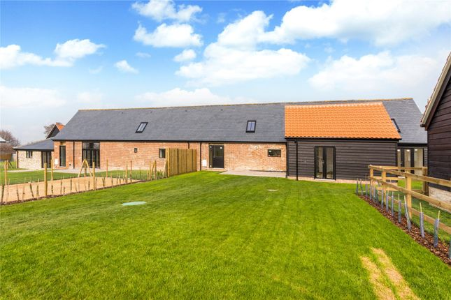 Thumbnail Semi-detached house for sale in Dotterell Hall Barns, Balsham, Cambridge