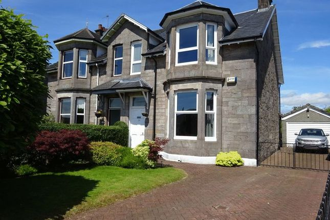Thumbnail Semi-detached house for sale in Dumbuck Crescent, Dumbarton