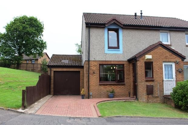 Thumbnail Semi-detached house for sale in Weymouth Crescent, Greenock
