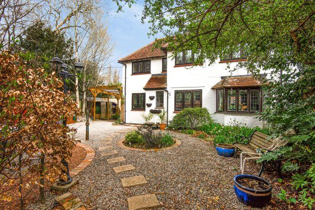 Thumbnail Semi-detached house for sale in Wickham Road, Curdridge, Southampton
