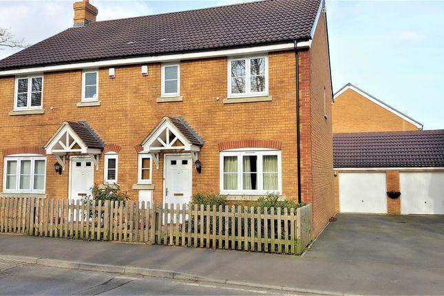 Thumbnail Semi-detached house for sale in Preston Lane, Lyneham, Chippenham