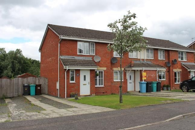 Thumbnail End terrace house for sale in Cherry Avenue, Abronhill, Cumbernauld, North Lanarkshire