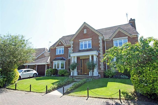 Thumbnail Detached house for sale in Great Groves, Goffs Oak, Waltham Cross