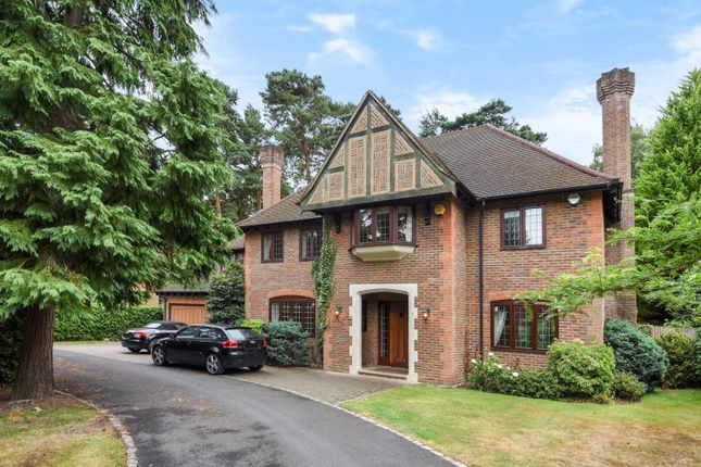 Thumbnail Detached house to rent in Apple Trees Place, Cinder Path, Hook Heath, Woking