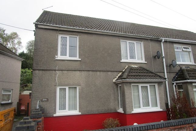Thumbnail Semi-detached house for sale in Tai Gwalia, Upper Cwmtwrch, Swansea, City And County Of Swansea.