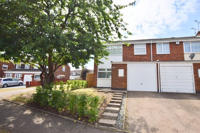 Thumbnail Semi-detached house to rent in Wareham Green, Coventry