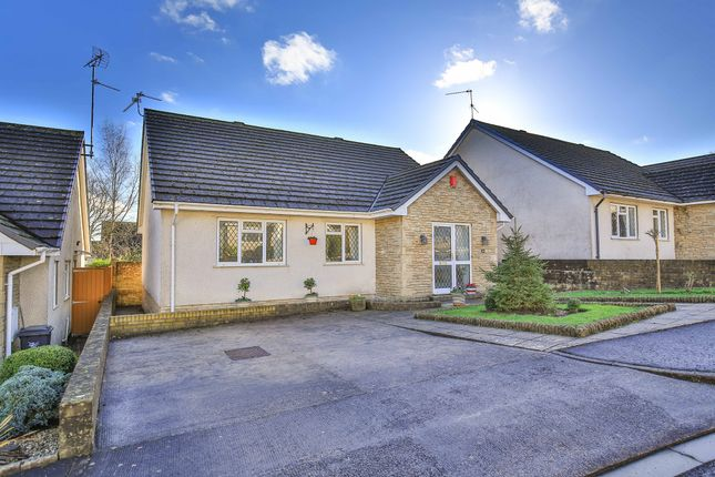 Thumbnail Detached bungalow for sale in Millrace Close, Lisvane, Cardiff