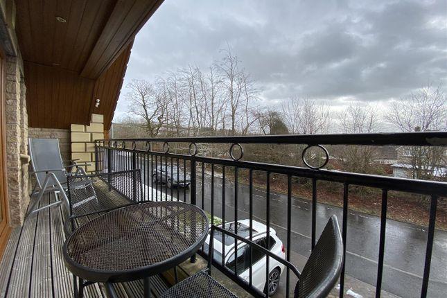 Balcony of Galloway Avenue, Coltness, Wishaw ML2