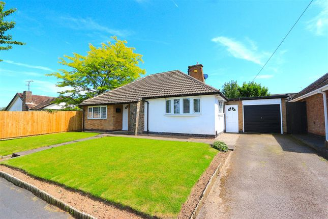 Thumbnail Bungalow for sale in Barry Drive, Kirby Muxloe, Leicester