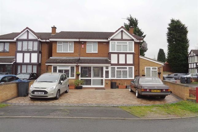 Thumbnail Detached house for sale in Johnson Close, Ward End, Birmingham