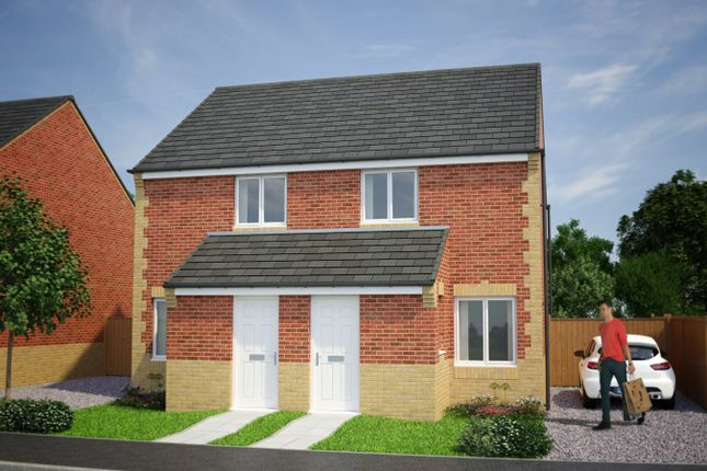 2 bedroom semi-detached house for sale in Plot 119, Kerry, Moorside Place, Valley Drive, Carlisle