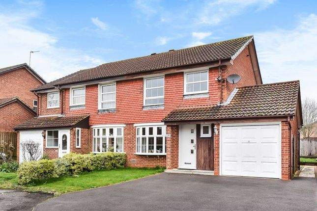 Thumbnail Semi-detached house for sale in Hadland Road, Abingdon