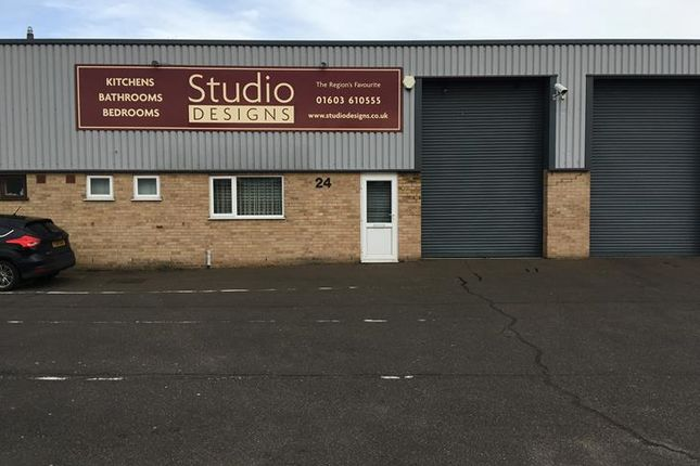 Thumbnail Light industrial to let in Kingsway, City Trading Estate, Norwich
