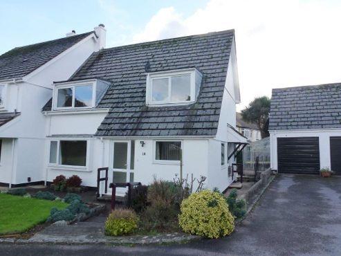 Thumbnail Semi-detached house to rent in Oldenburg Park, Paignton